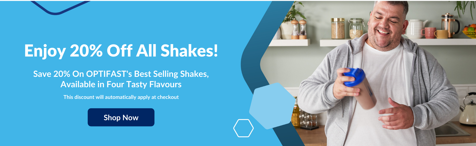 Save 20% On Shakes