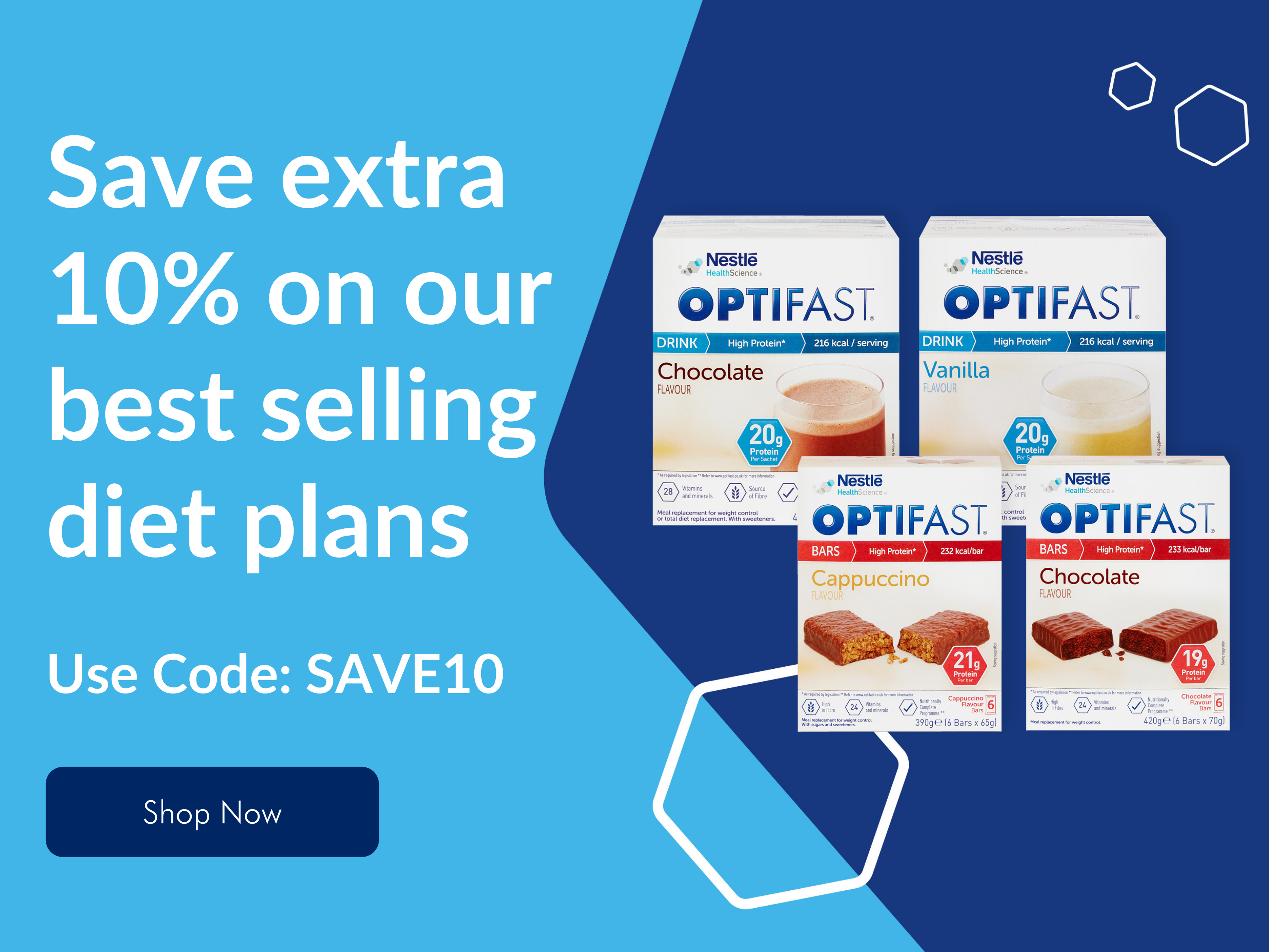 Extra 10% Off OPTIFAST Bundles