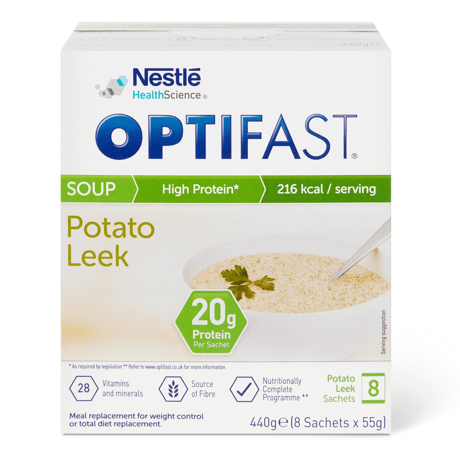 Image of the Leek & Potato flavour OPTIFAST soup