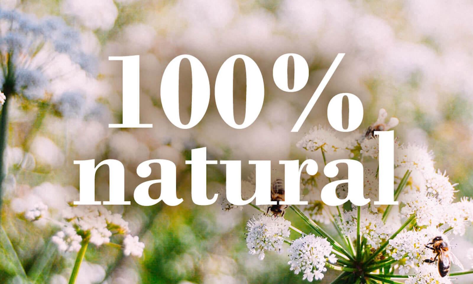 Todo lo que necesitamos para sobrevivir proviene de la naturaleza.