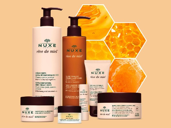 Reve de Miel. Ultra nourishing and comforting designed to soften and soothe dry and sensitive skin types.