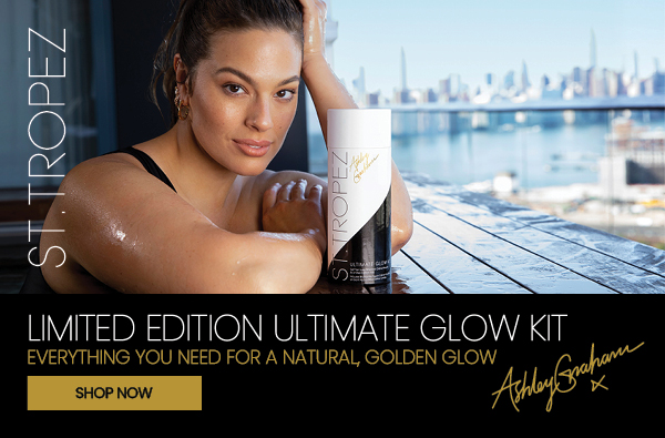 Ashley Graham St.Tropez Brand Ambassador