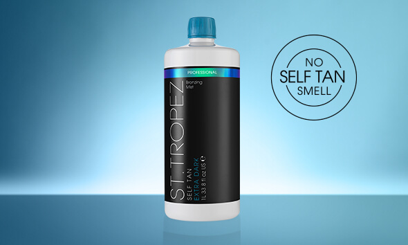 SELF TAN EXTRA DARK  PROFESSIONAL BRONZING MIST. No self tan smell.