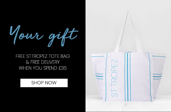 Free Tote Bag when you spend £35