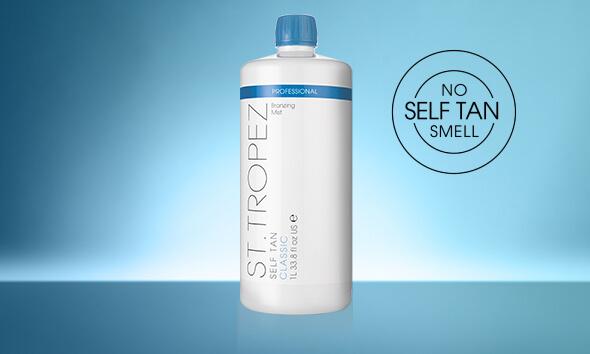 SELF TAN CLASSIC PROFESSIONAL BRONZING MIST BOTTLE. No self tan smell.