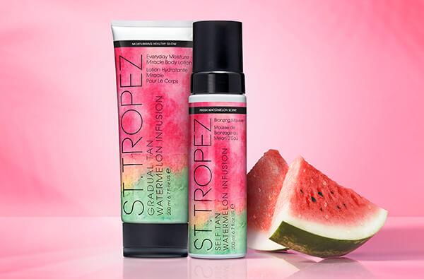St.Tropez Watermelon Infusions range