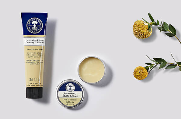 Natural herbal creams, oils and salves