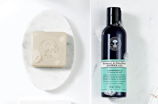 shower gels soaps