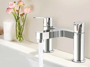 How to install a basin or bath
