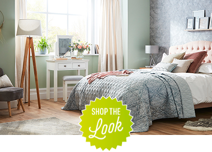 Shop the look - bedroom