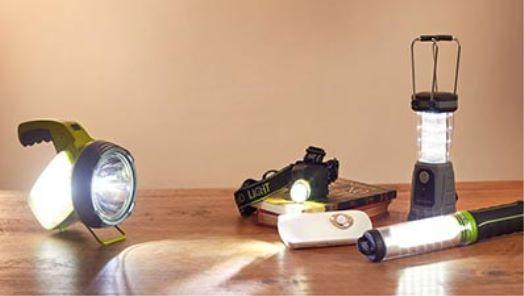 Work Lights, Torches & Night Lights