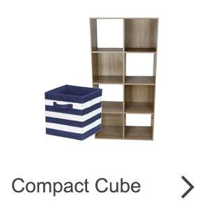 Compact Cube - shelves
