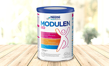 Modulen product on wooden table