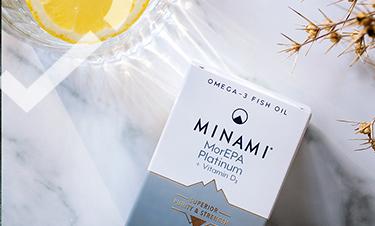 Minami MorEPA Platinum Omega-3 capsules