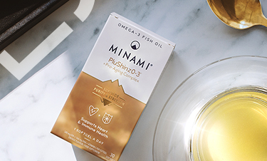 Minami PluShinz0-3 omega-3 capsules