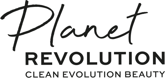 Planet Revolution Clean Evolution Beauty i'm recycled, cruelty free and have sustainable ingredients