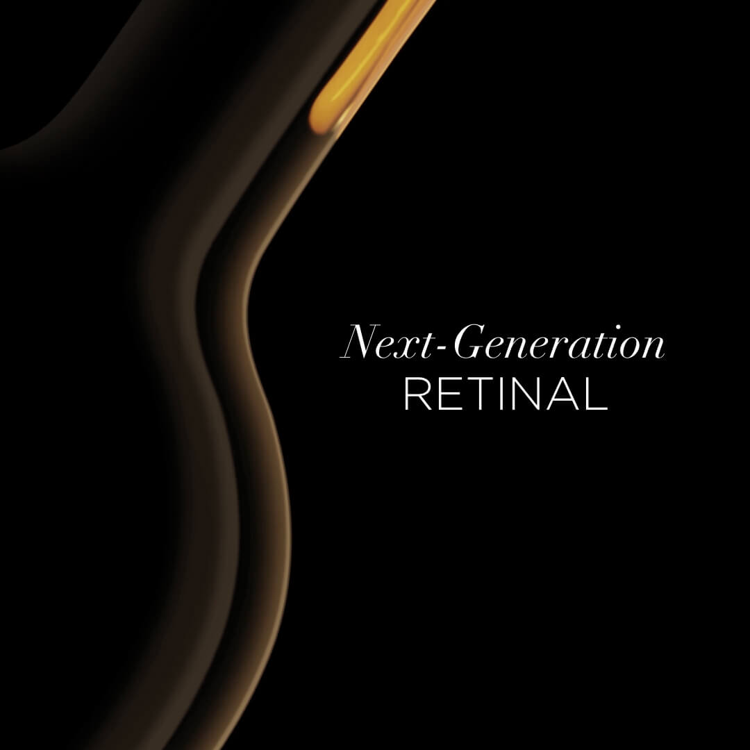Next-generation Retinal (retinaldehyde) - is a stable and non-irritating form of Vitamin A that is converted into Retinoic Acid by our bodies. It promotes collagen production, speeds up cell turnover, reduces fine lines and wrinkles, while smoothing the complexion.