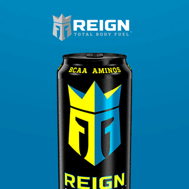 Reign energy drink can