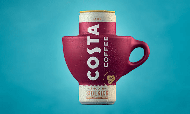 Experience Costa Coffee on the go in a Costa Coffee Can