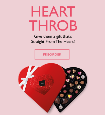 Heart Throb. Give them a gift that's straight from the heart!