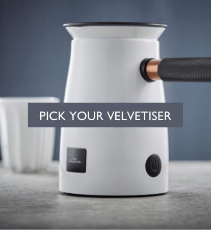 Pick your velvetiser