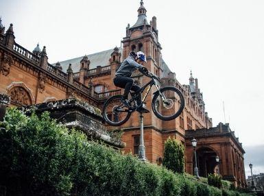 Danny Macaskill Endura's creative trials rider