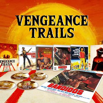 Vengeance Trails: Four Classic Westerns
