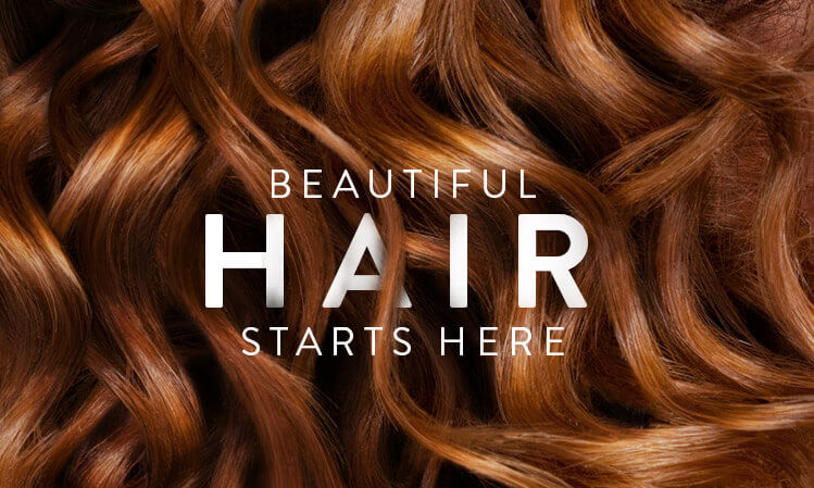 beautiful hair starts here