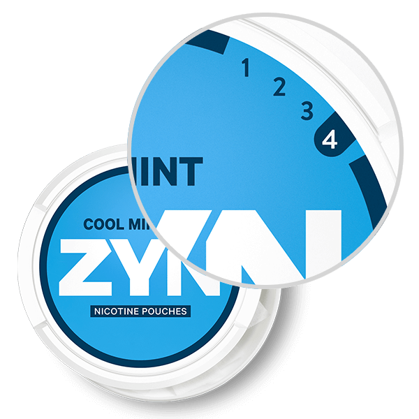 ZYN Strong Strength Cool Mint pouches