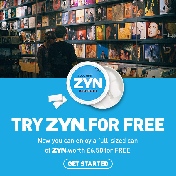 Try ZYN for free. Now you can enjoy a full-sized can of ZYN worth £6.50 for FREE. Get started.