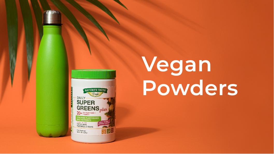 Vegan powders list
