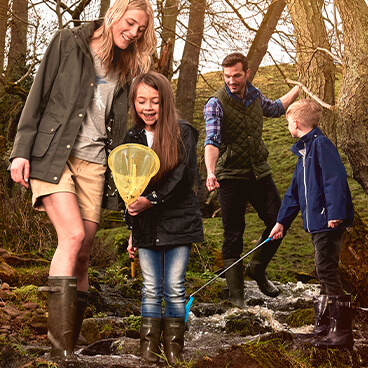 Barbour wellies jackets