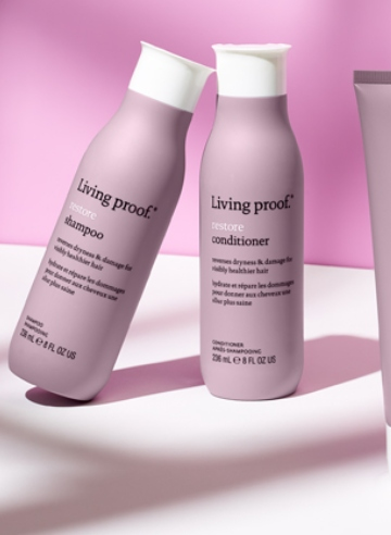 Haircare heroes: Living Proof