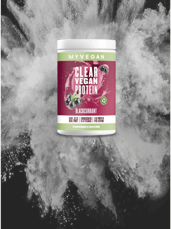 Clear Vegan Protein Blackcurrant
