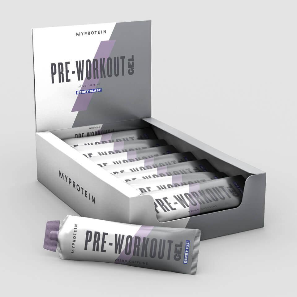 Nejlepší Pre Workout Gel