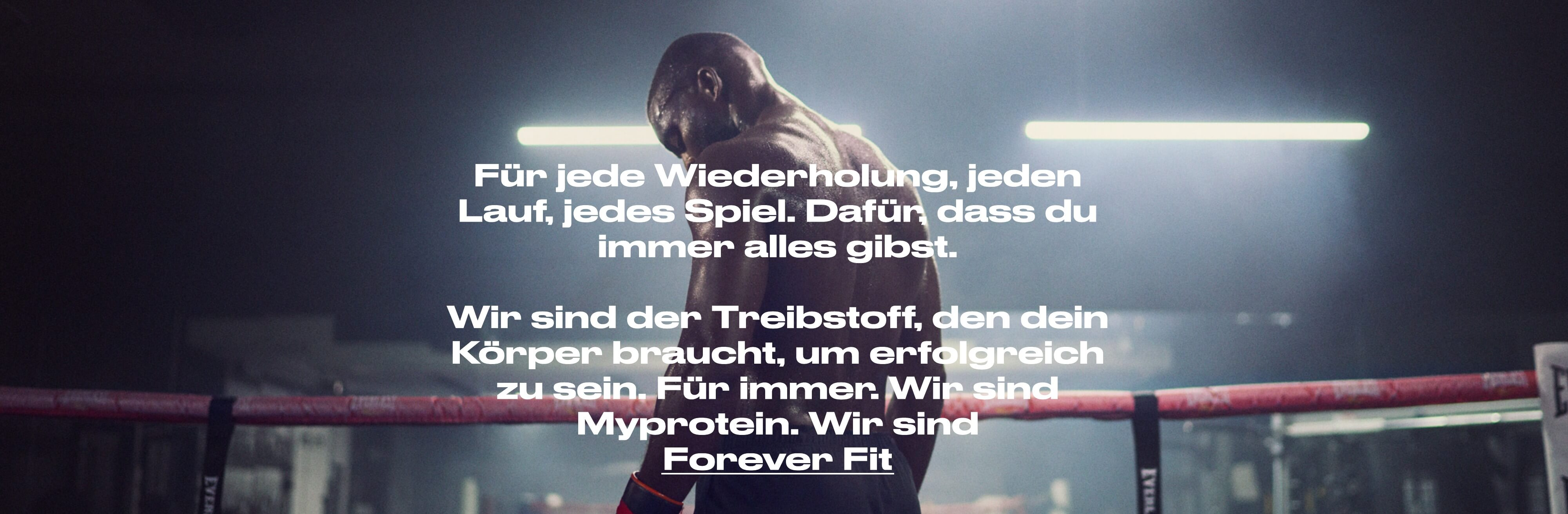 Myprotein Forever Fit