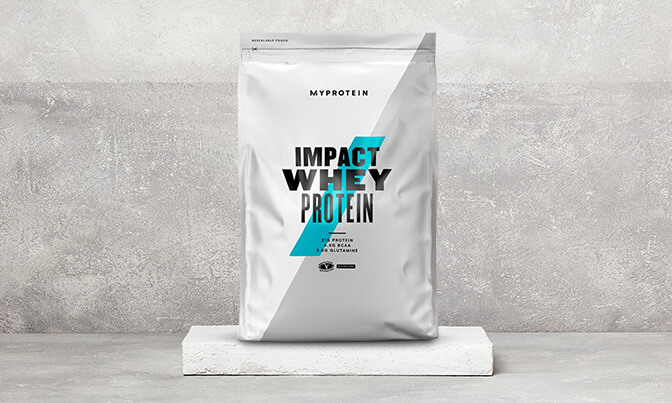 Impact Whey Protein pouch