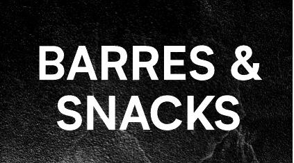 Barres & Snacks