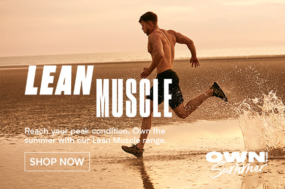 Myprotein Summer goals - lean muscle banner