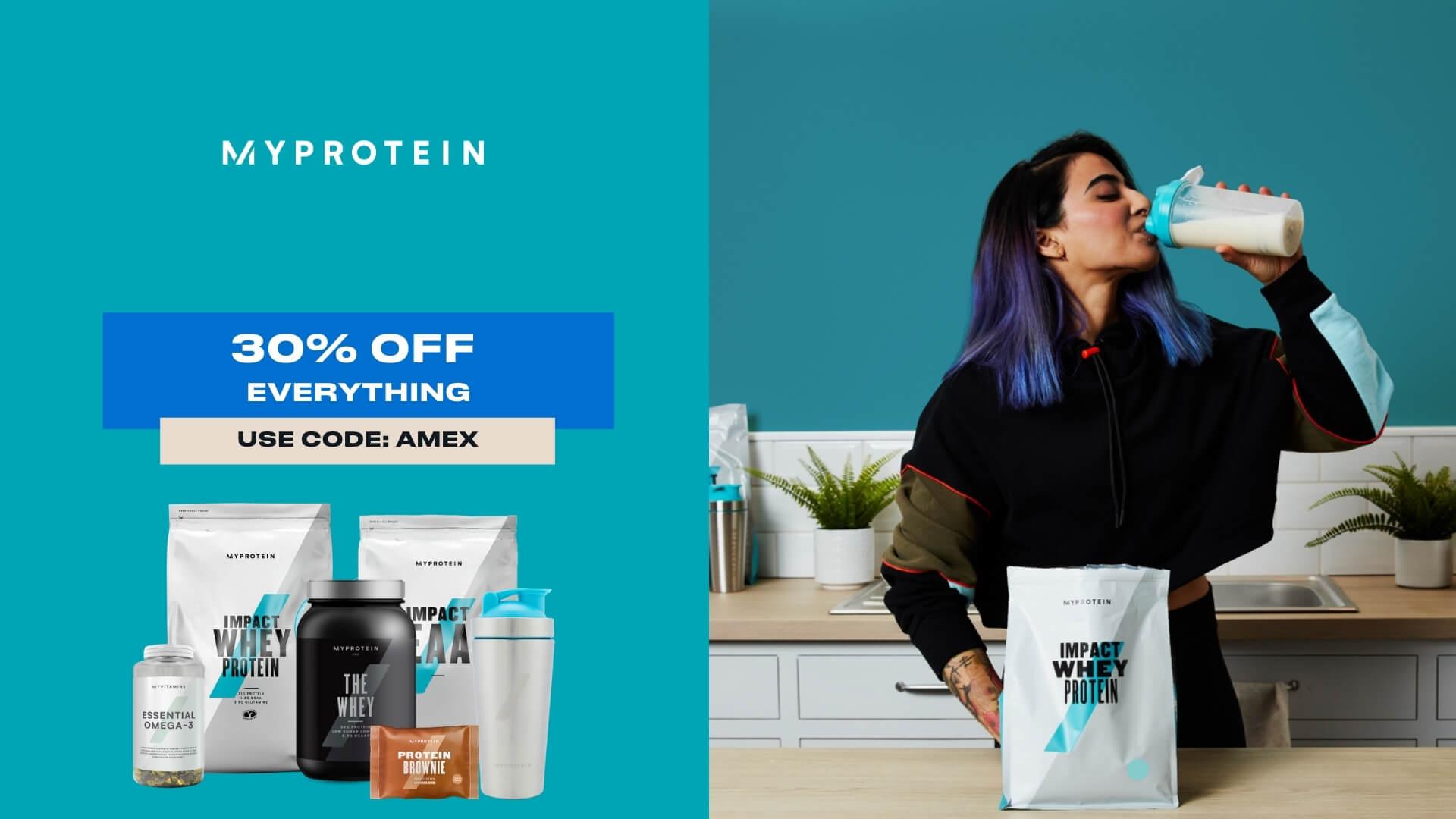 American Express x Myprotein