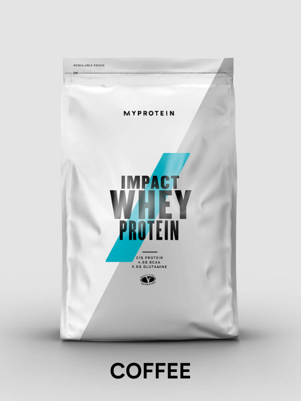 Impact Whey Protein coffee