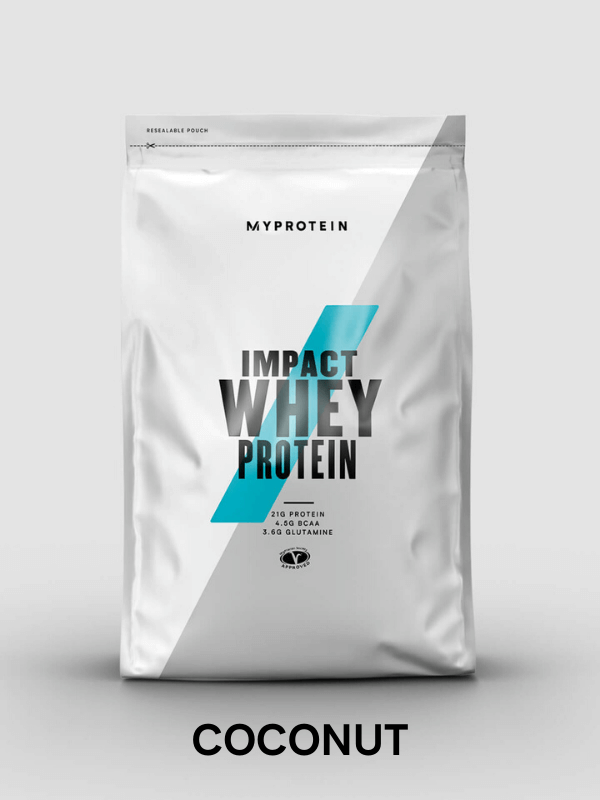 Impact Whey Protein coconut flavour