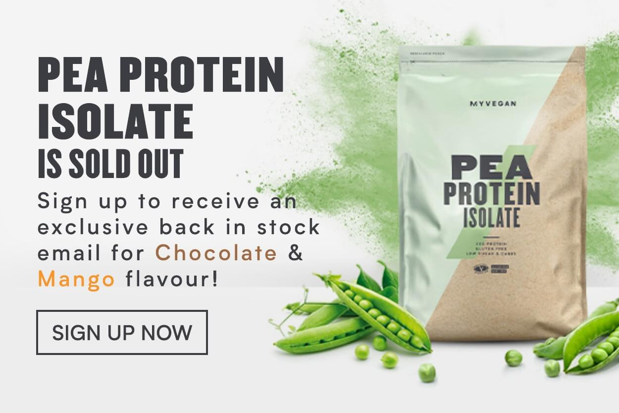 pea protein oos