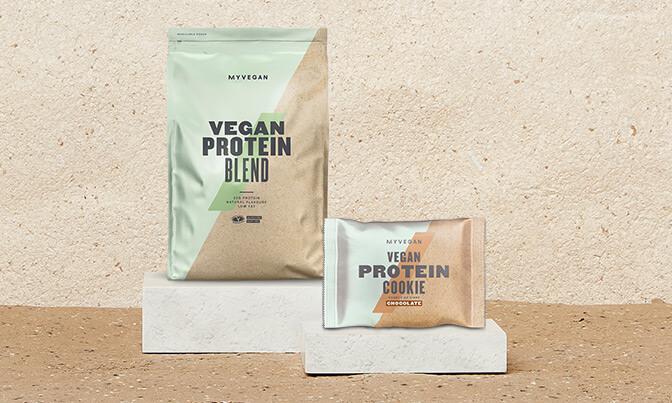 Baltymų mišiniai veganams
