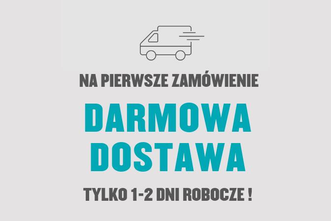 Darmowa dostawa na Twoje pierwsze zamówienie, za minimum 99 PLN. Poznaj nasze najwyższej jakości produkty.