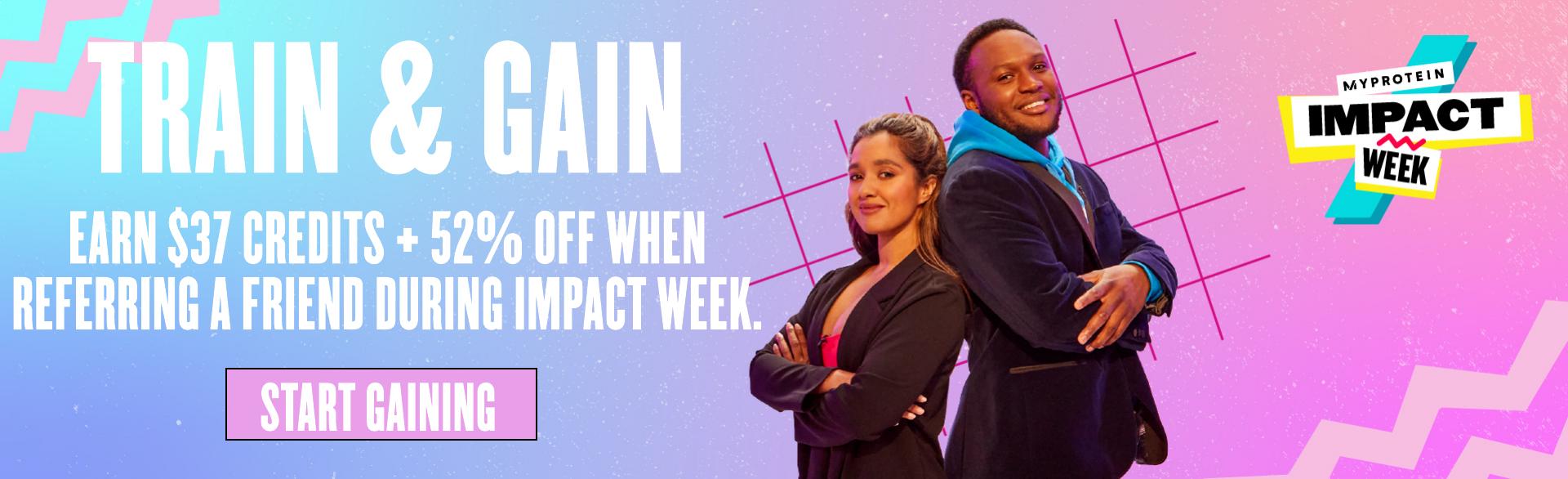 Impact Week Train & Gain