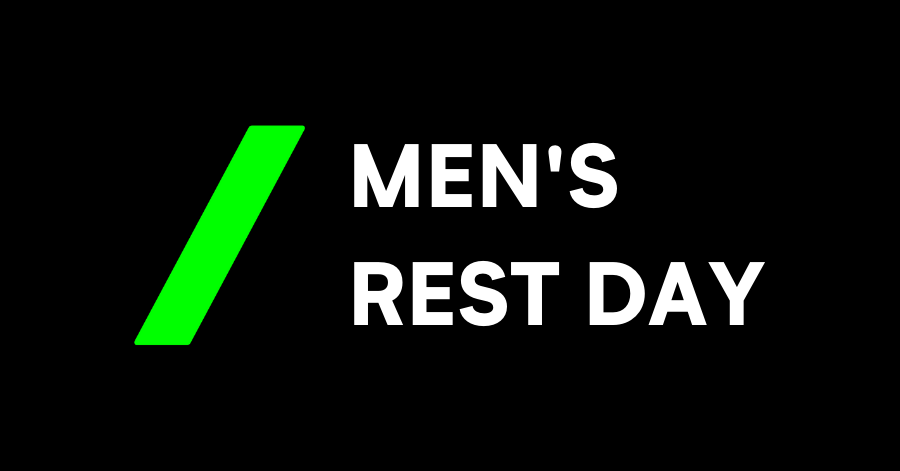 Mens rest day