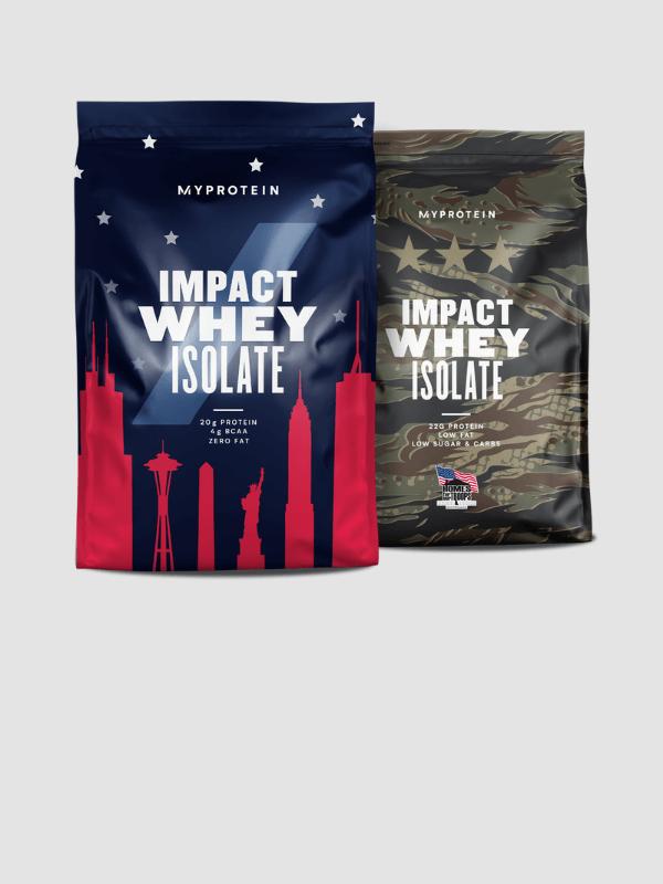 Impact Whey Isolate Localised