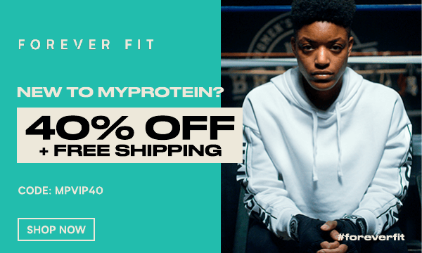 Welcome to Myprotein. Take 40% off your order + free shipping. Use code MPVIP40