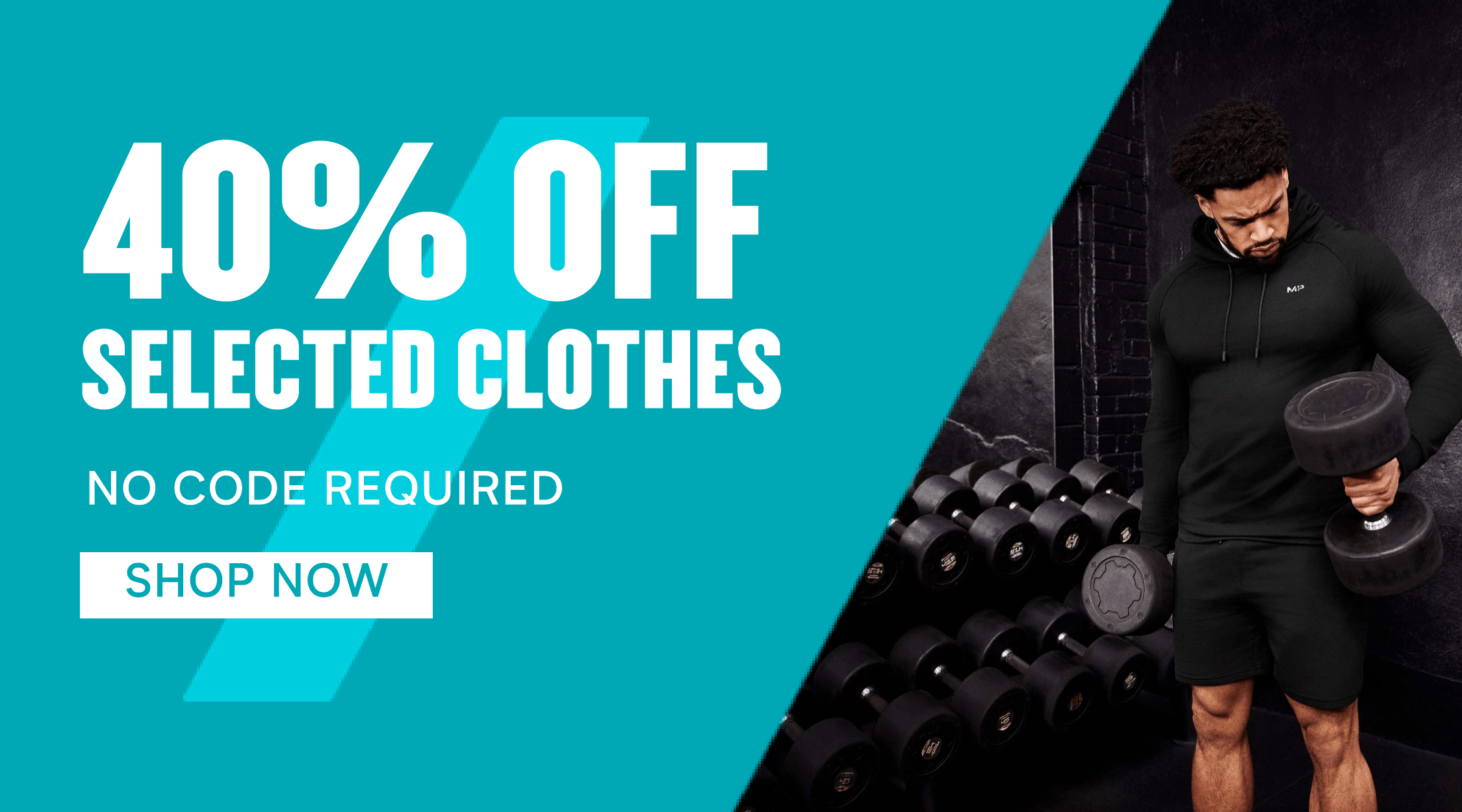 40% off selected clothes